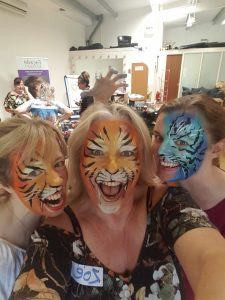 face painting courses