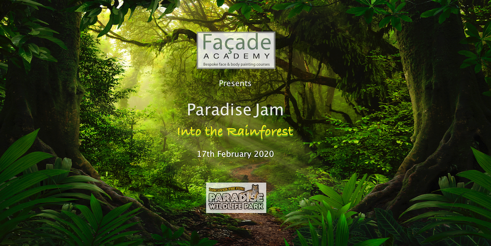 Paradise Jam 2020 face painting event